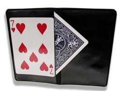 Card Wallet, Two Hidden Flaps