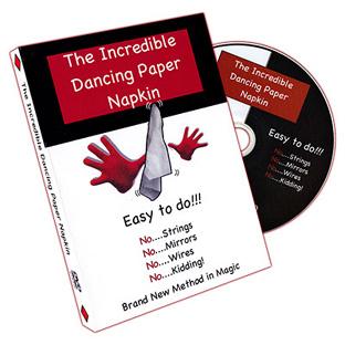 The Incredible Dancing Paper Napkin