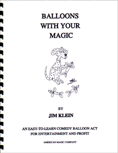 Balloons With Your Magic Book