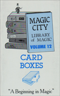 Card Boxes Book