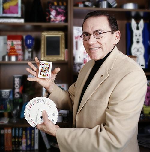 Bill in his Empire Magic Studio