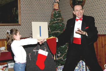 Fun at an Organization Christmas Program