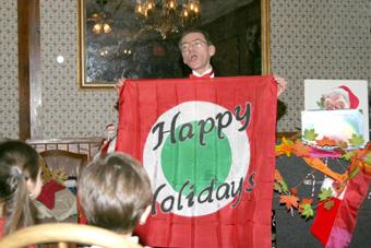 Bill Wishing Everyone a Magical and Happy Holiday Season