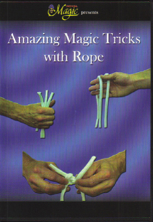 DVD Amazing Magic Tricks with Rope