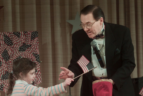 Volunteer Participating in a Betsy Ross Flag Routine