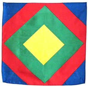 Sunburst Silk Handkerchief