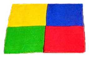 Four Square Silk Handkerchief