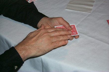 Bill's Strolling Magic is Up Close, Personal and Right Before Your Eyes