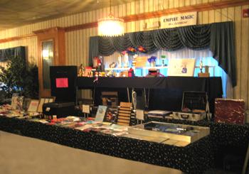 Empire Magic Dealer Booth